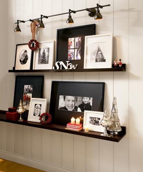 rafturi decorative suport poze familier inramate