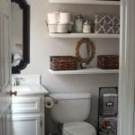rafturi depozitare deasupra toaletei baie mici dimensiuni