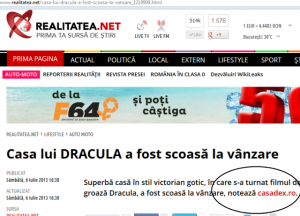 casadex.ro din nou preluata de presa din Romania