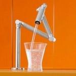 robinet bucatarie pliabil automat cu senzori de miscare