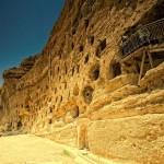 sat medieval manazan sapat in stanca de calcar taskale turcia
