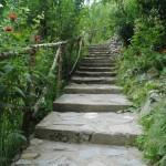 scara de piatra din gradina