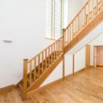 scara interioara stejar masiv casa interior modern