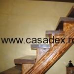 scara interior lemn scanduri
