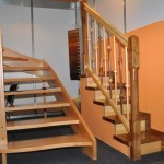 scara lemn interioara