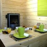 semineu electric living casa mica lemn amprenta 3x3 metri
