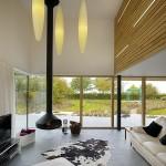 semineu suspendat interior living modern minimalist