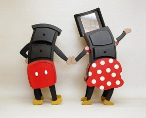set comode cu sertare minnie si mickey designer judson beaumont