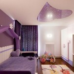 spoturi led incastrate intr o inimioara stilizata decor tavan camera adolescenta