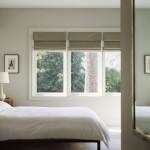 storuri romane decor fereastra dormitor modern