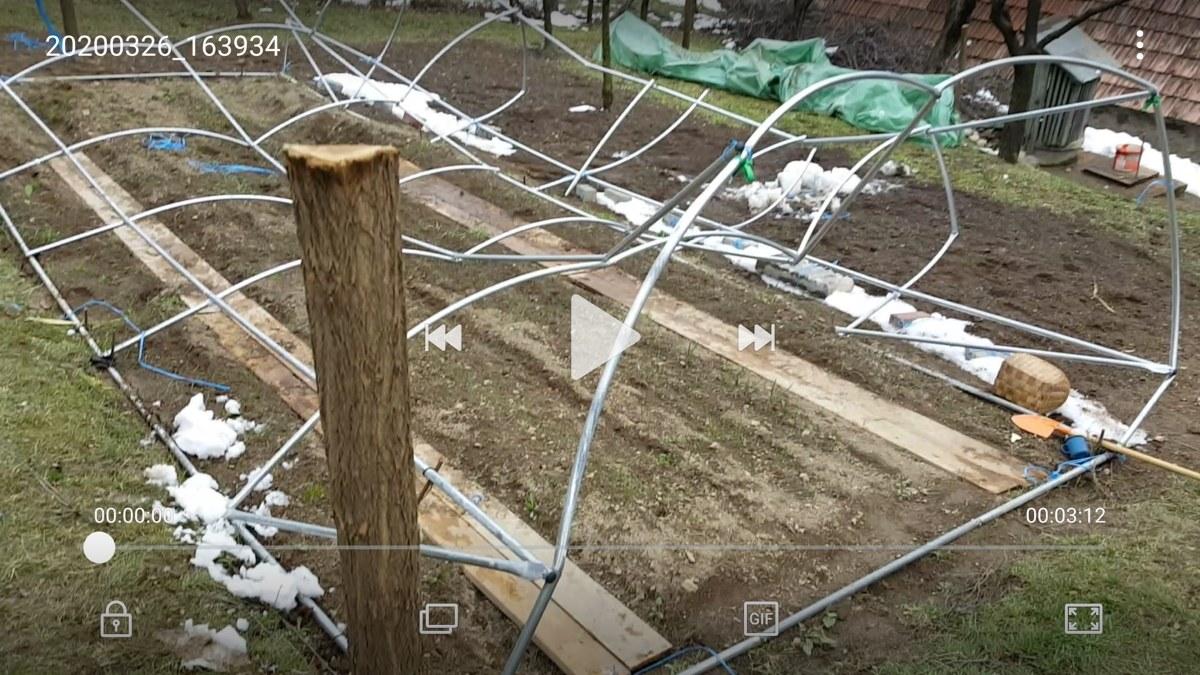 structura solar rupta de ninsoare