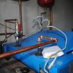 supapa termica de descarcare - serpentina racire instalatie centrala lemne curent oprit