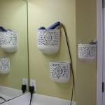 suport decorativ din ghivece montate pe perete pentru feon