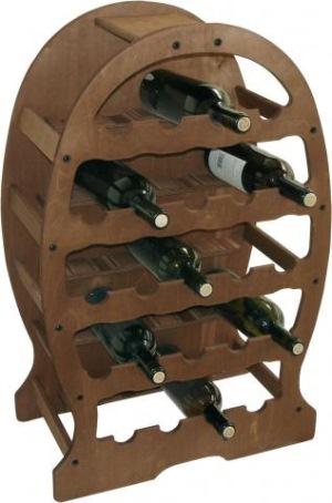 suport lemn 23 sticle vin-vinuri de colectie