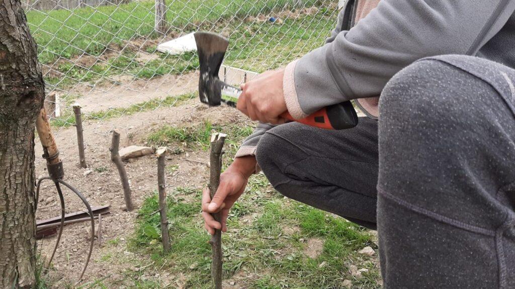 tarusi pentru gardulet din nuiele