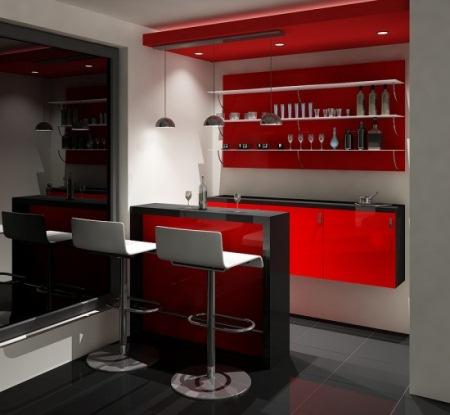 tejghea bar living modern
