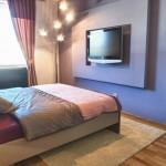 televizor perete dormitor modern