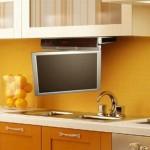 televizor pliabil flip down bucatarie moderna