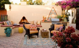 terasa amenajare stil marocan