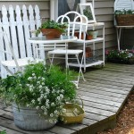 Amenajari romantice Shabby Chic pentru casa, balcon sau terasa
