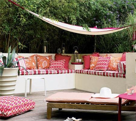 terasa amenajata stil marocan