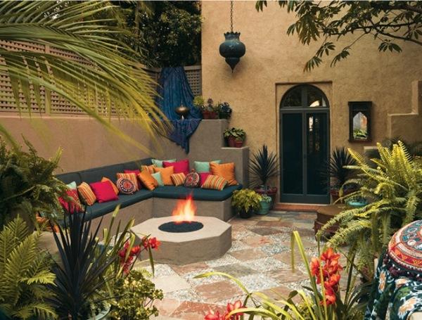 terasa exotica stil marocan