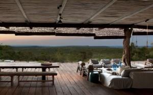 terasa exterioara cabana de lux africa de sud provincia limpopo