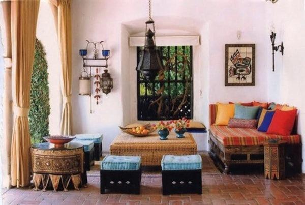 terasa stil marocan