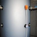 termostat puffer - comanda pompa circulatie tur instalatie