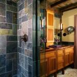 travertin baie amenajata in stil clasic