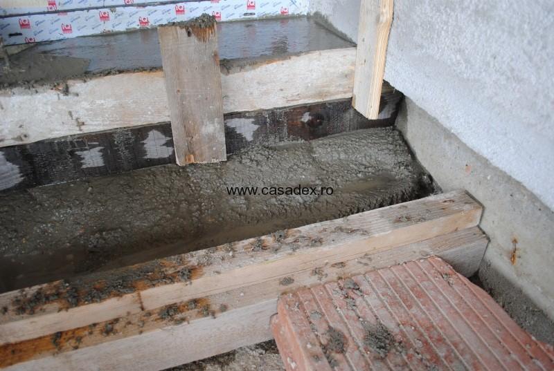 turnare beton trepte