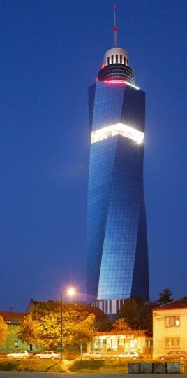 turnul avaz sarajevo