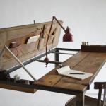 Usa transformata in masa de 8 persoane si birou