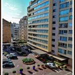 vedere de la fereastra apartament Cannes Franta