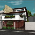 vedere laterala casa craiova proiect