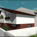 vedere laterala proiect casa craiova