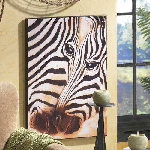 zebra print interior