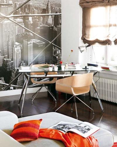 zona lucru birou apartament
